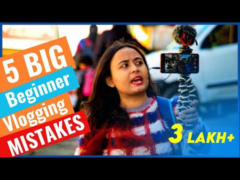 5 BIG Beginner Vlogging Mistakes | HOW TO VLOG | Beginner Vlogging Tips | Feet Outside