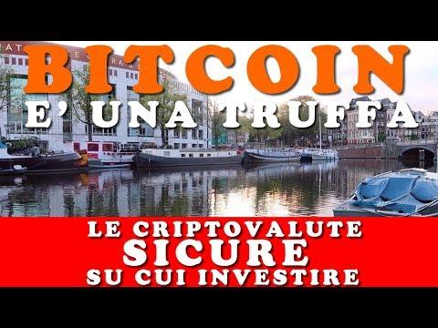 Bitcoin è Una Truffa: Ecco Le Criptovalute Sicure Su Cui Investire