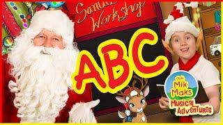 ABC Christmas Song | ABC for Children | Learn The Alphabet - The Mik Maks