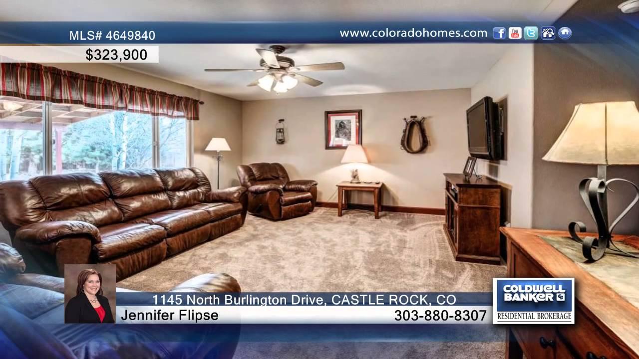 1145 north burlington drive castle rock co homes for sale