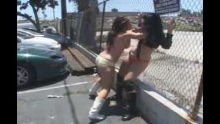 W.A.W. Female Wrestling Taking it to the Streets
