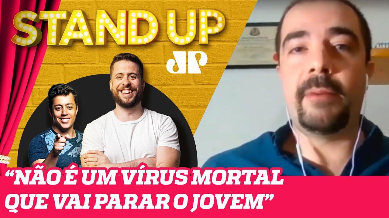 PREFEITO QUER FLEXIBILIZAR FESTAS CLANDESTINAS | STAND UP JOVEM PAN