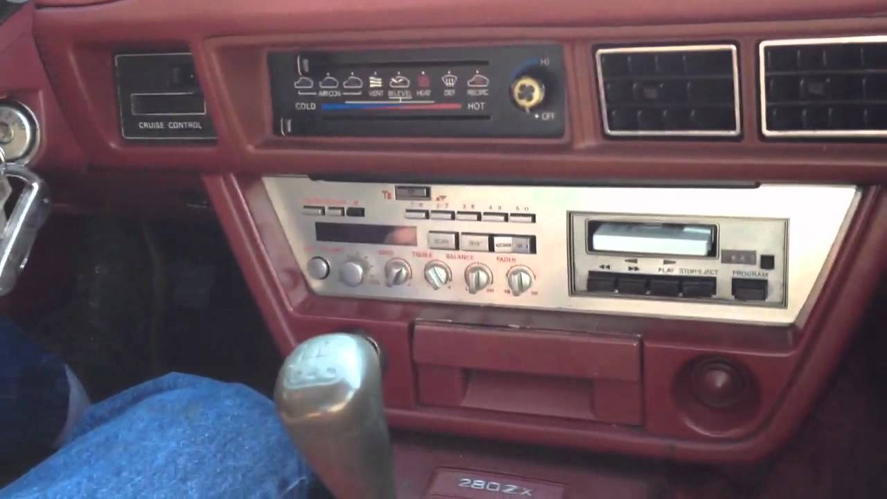 280z Wiring Diagram Datsun 280zx Talking To You From 1982 Youtube