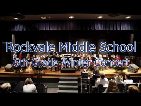 Rockvale Middle School 6th Grade Winter Concert 2018