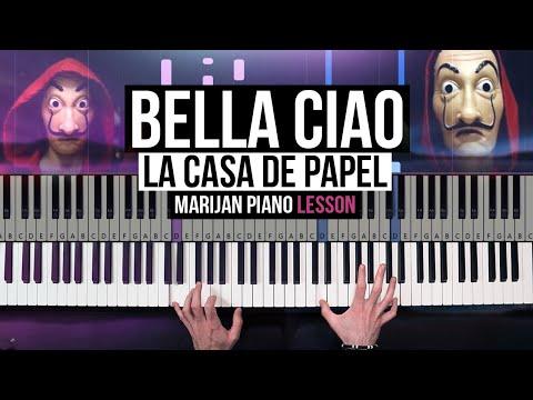 How To Play: La Casa De Papel - Bella Ciao | Piano Tutorial Lesson