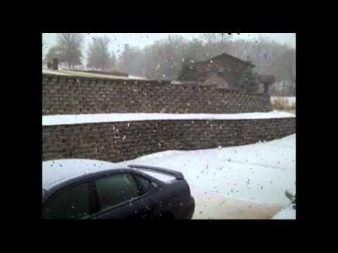The 2011 Blizzard Recap: Freezing Rain To Heavy Sleet To Snow
