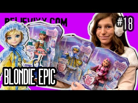 куклы Эвер Афтер Хай УМИРАЮТ ? Blondie Lockes Epic Winter обзор на кукол Эвер Афтер