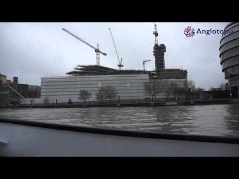 Anglotopia Slow TV: Thames River Cruise To Greenwich - Full Journey