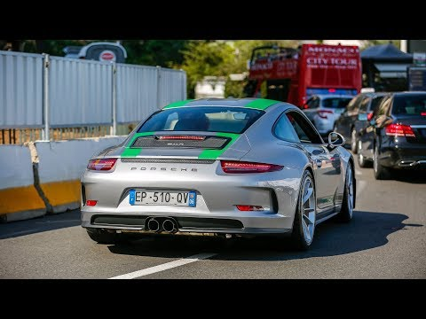 Supercars in Monaco 2017 - VOL. 21 (918 Spyder, Miura SVJ, 911R, 2x 720S, 250 GT California Spider)