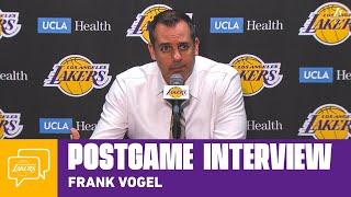 Lakers Postgame: Frank Vogel (12/1/19)