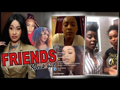 Cardi B Dancer Friends Address Tasha K & Ex-Roommate (IG LIVE VIDEO)