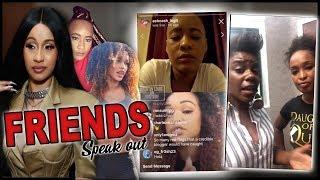 Cardi B Dancer Friends Address Tasha K & Ex-Roommate (IG LIVE VIDEO)