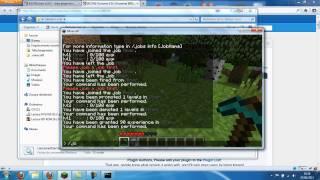 Tutoriel Minecraft - Jobs (Bukkit) - Système de métiers sur vos serveurs | Part 1/4
