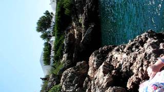 Cala Egos cliff jump 2011