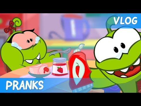 Om Nom Stories: Video Blog - Pranks