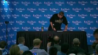 Steve Kerr Postgame Interview - Game 5 | Cavaliers vs Warriors | June 12, 2017 | 2017 NBA Finals