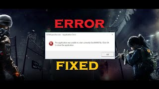 Video How to Fix Error 0xc00007b in Windows 10/8.1/8/7 (Best Method) [100% Solved] download MP3, 3GP, MP4, WEBM, AVI, FLV Oktober 2018