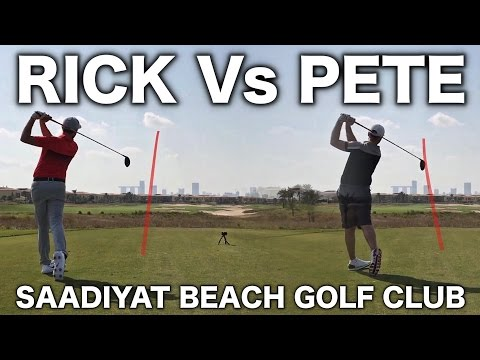 RICK Vs PETE - Saadiyat Beach Golf Club PART 1