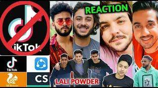 Tik Tok Ban In India ll YouTubers Reaction ll Tiktok Ban In India ll 59 Chinese Aap Ban In India ll