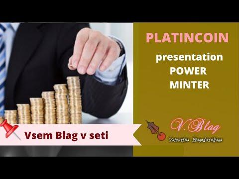 PlatinCoin  платинкоин Presentation POWER MINTER