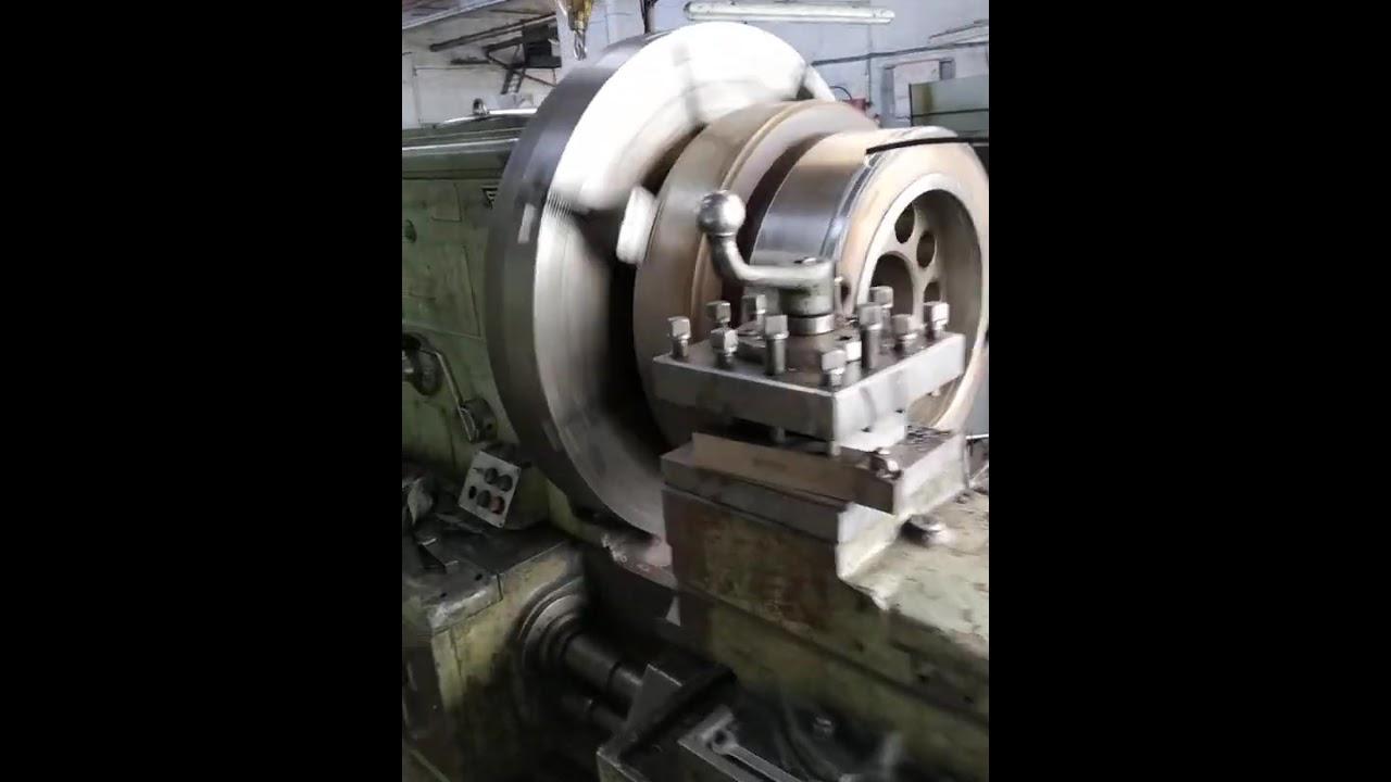 Токарная обработка шкива