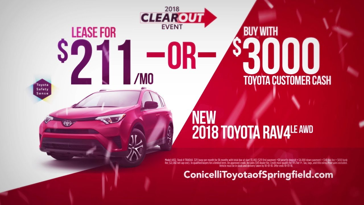 Captivating RAV4 AWD At Conicelli Toyota Of Springfield