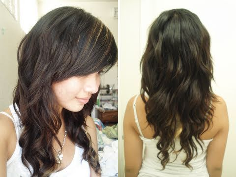 how to curl your hair with pens pencils l curl hair without heat l quick easy heatless curls