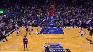 Nikola Vucevic Fadeaway Game Winner!
