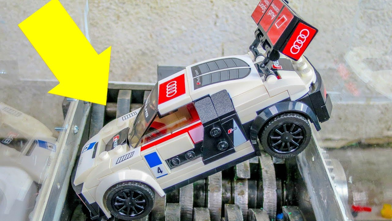 Lego Speed Audi R8 Ides Dimage De Voiture 75873 Champions Lms Ultra Shredding A Car Destroyed