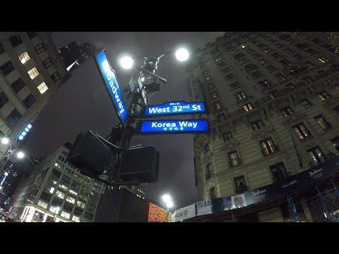 ⁴ᴷ Walking Koreatown (32nd Street), Manhattan from Broadway to 5th Avenue