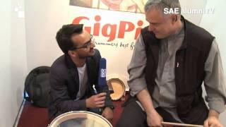 Baixar GigPig auf SAE alumniTV @ Musikmesse 2011