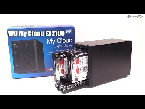Western Digital My Cloud EX2100 NAS im Hands On & Einrichtung / Setup | Allround-PC.com