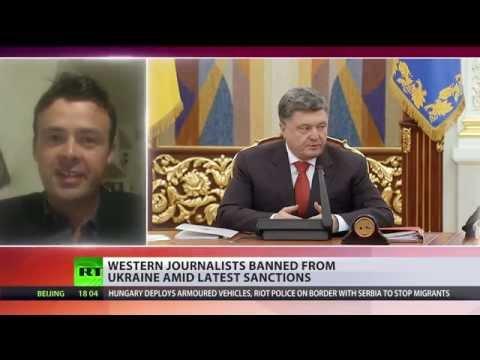 Poroshenko bans western journalists from Ukraine