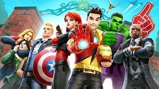 MARVEL AVENGERS ACADEMY - AVENGERS NA FACULDADE (Android Gameplay Português PT-BR)
