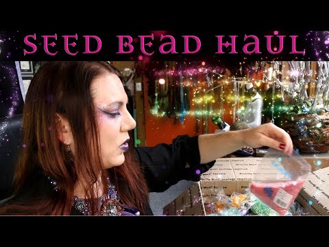 Massive Seed Beads Haul - Factory Pack Toho Seed Beads
