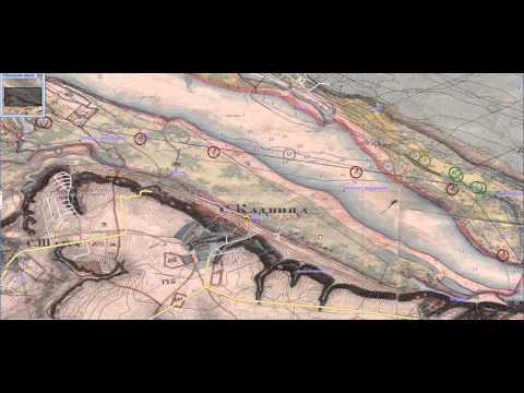 Карта Менде Нижегородской губернии для Garmin