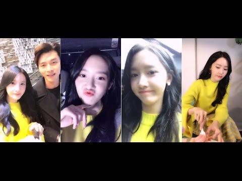 [FULL] 170601 Yoona 林允儿 - Weibo Live Chat (yizhibo)