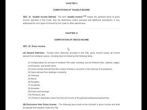 Taxation NIRC - Section 27 (Tax on Domestic Corporations) Part 2