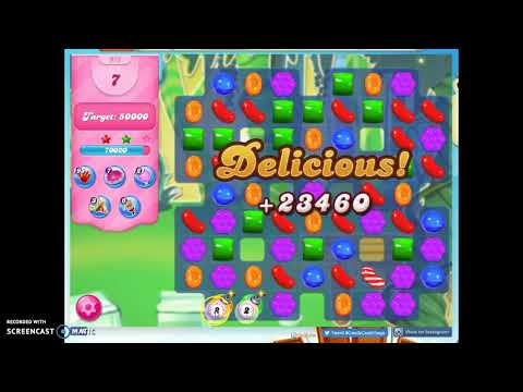 Candy Crush Level 973 Audio Talkthrough, 3 Stars 1 Booster