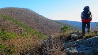 Backpacking Arkansas - March 2018