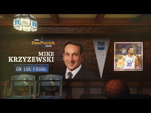 Duke HC Mike Krzyzewski on The Dan Patrick Show   Full Interview   3/20/18