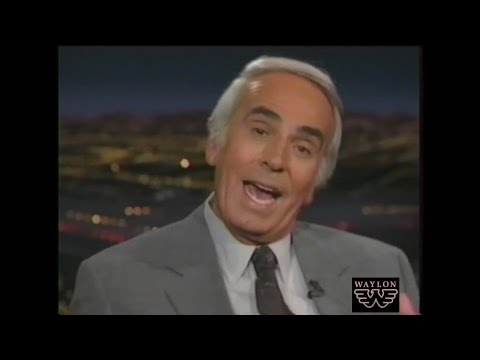 Waylon Jennings walks out on Tom Snyder
