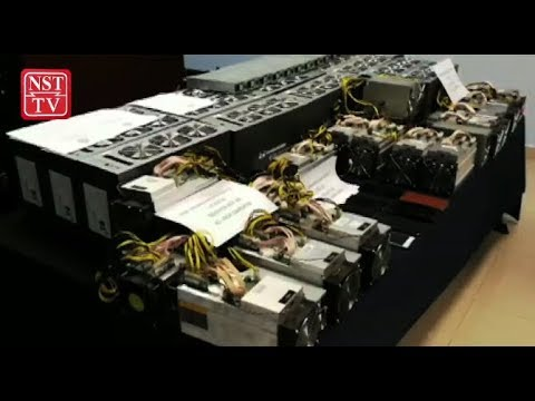 Police arrest 9 over bitcoin mining machine thefts