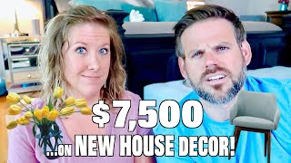 Spending $7,500 on NEW HOUSE Decor in ONE Month! (May Spending Comparison) - Our Debt Disaster