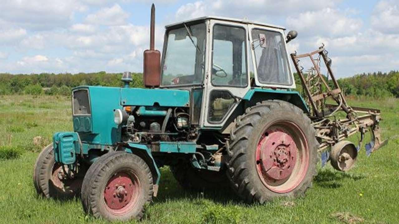 #4432. Трактор экскаватор тюнинг