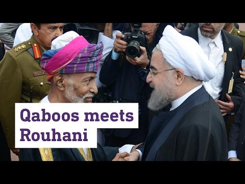 Qaboos meets Rouhani