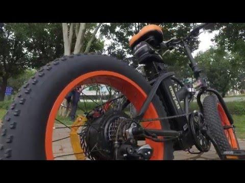 Addmotor 20 Inch Fat Tire E Bike Youtube