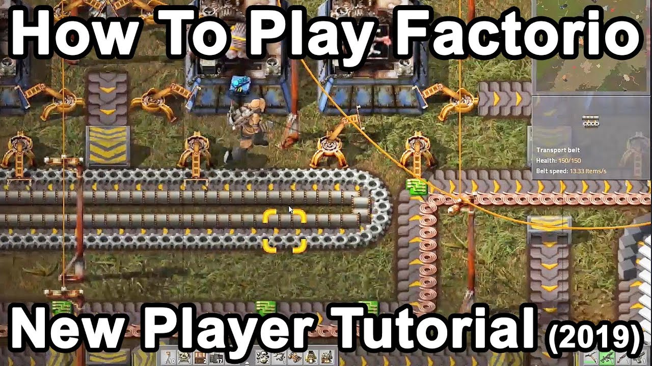 How To Play Factorio: The Essential Getting Started Tutorial (2019)