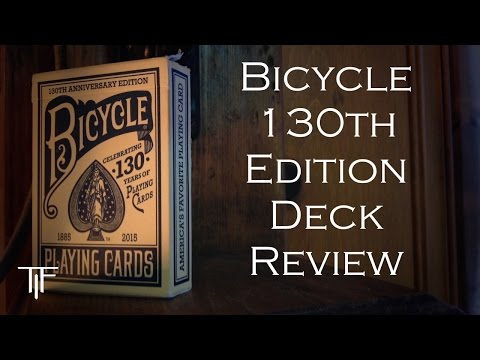 Blue Bicycle 130th Anniversary Playing Cards