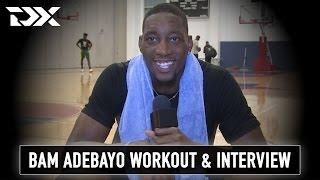 Bam Adebayo NBA Pre-Draft Workout and Interview